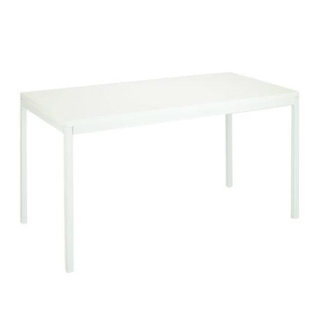 vista mesa estructura y tapa blanca