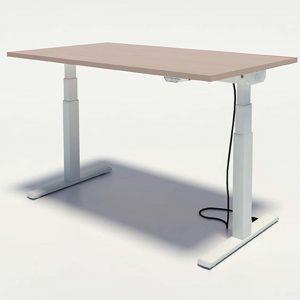 mesa individual elevable en altura sistema eléctrico. colores a elegir.