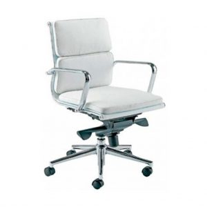 sillon activity 4 respaldo bajo blanco