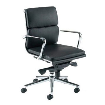 sillon activity 4 respaldo bajo negro