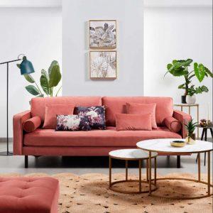 foto ambiente sofa bogart y mesas nido leonor