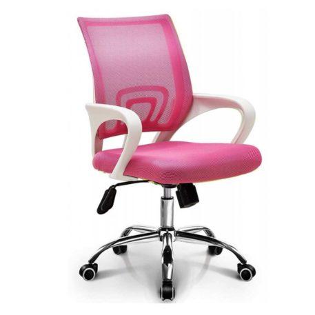 Silla estudio modelo Fiss rosa