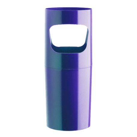 paraguero básico plástico azul