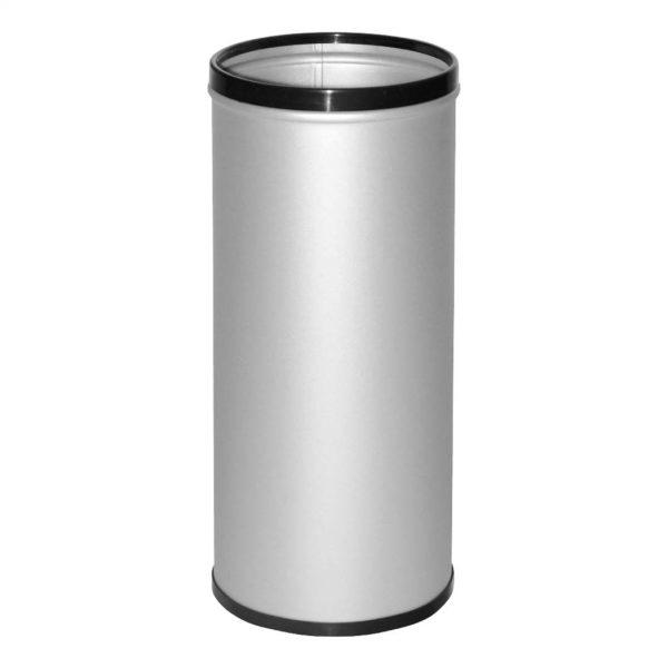 paraguero básico cilíndrico gris