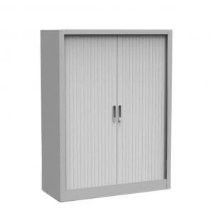 armario metalico medio de puertas de persiana